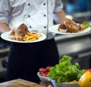 platos del catering